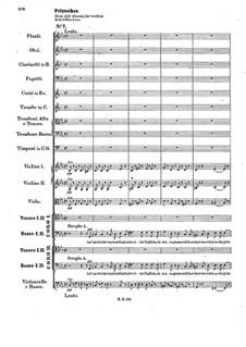 Oedipus in Kolonos, Op.93: Nr.7-9 by Felix Mendelssohn-Bartholdy