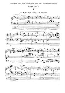 Sonate für Orgel Nr.6 in e-Moll, Op.137: Sonate für Orgel Nr.6 in e-Moll by Gustav Adolf Merkel