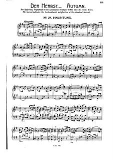 Die Jahreszeiten, Hob.XXI/3: Teil III. Der Herbst, Nr.21-27 by Joseph Haydn