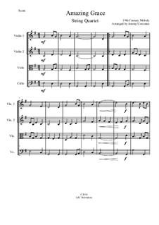 Erstaunliche Gnade: Für Streichquartett by folklore