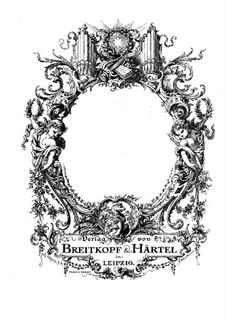 Kirchensonate für zwei Violinen, Orgel und Basso Continuo Nr.15 in C-Dur, K.328 (317c): Violinstimme II by Wolfgang Amadeus Mozart