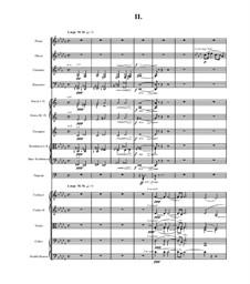 Teil II (Largo): Partitur by Antonín Dvořák