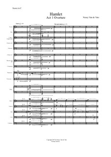 Hamlet: Act I – score by Nancy Van de Vate