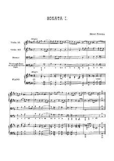 Zehn Triosonaten: Vollsammlung, Z.802-811 by Henry Purcell