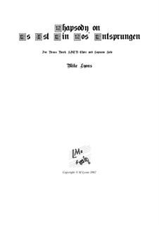 Es Ist Ein Ros' Entsprungen: For brass band and choir by Michael Praetorius