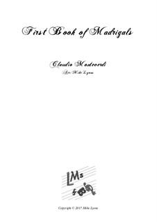 Heft 1 (für fünf Stimmen), SV 23–39: Arrangement for quintet instruments by Claudio Monteverdi