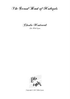 Heft 2 (für fünf Stimmen), SV 40–59: Arrangement for quintet instruments by Claudio Monteverdi