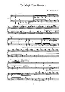 Ouvertüre: Für Klavier Solo by Wolfgang Amadeus Mozart