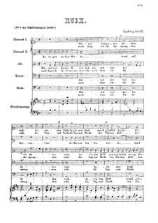 Wiewol viel herter Orden : Für fünf Stimmen und Klavier by Ludwig Senfl