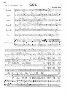 Wiewol viel herter Orden : Für sechs Stimmen und Klavier by Ludwig Senfl