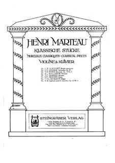 Suite für Violine und Klavier, Op.43: Teil IV Gavotte by Henri Vieuxtemps