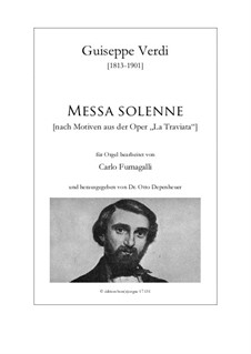 Fragmente: Messa solenne by Giuseppe Verdi