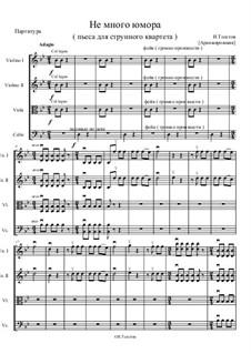 Не много юмора, Op.7: Не много юмора by Ivan Tolstov