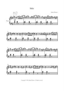 Klavier Lieder Band 2 - CrusaderBeach - Songbuch: No.5 Slide by Adrian Webster
