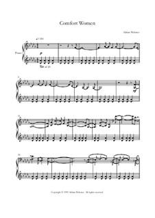 Klavier Lieder Band 2 - CrusaderBeach - Songbuch: No.1 Comfort Women by Adrian Webster