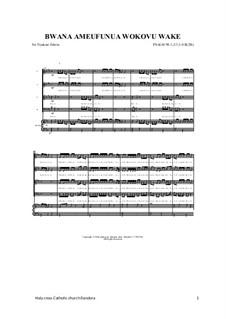 Bwana Ameufunua Wokovu Wake: Bwana Ameufunua Wokovu Wake, Op.17 by folklore