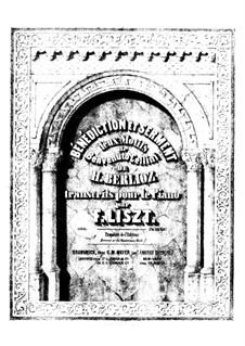 Transkription über Themen aus 'Benvenuto Cellini' von Berlioz, S.396: Transkription über Themen aus 'Benvenuto Cellini' von Berlioz by Franz Liszt