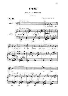 Drei Lieder, Op.8: No.3 Ici-bas, for high voice by Gabriel Fauré