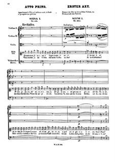 Vollständige Oper: Akt I by Wolfgang Amadeus Mozart