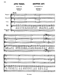 Vollständige Oper: Akt III by Wolfgang Amadeus Mozart