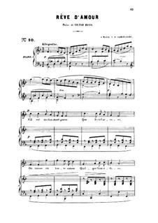 Drei Lieder, Op.5: No.2 Rêve d'amour, for high voice by Gabriel Fauré