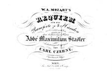 Vollständiger Teile: Für Klavier, vierhändig by Wolfgang Amadeus Mozart