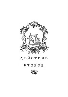 Vollständige Oper: Akt II, für Solisten, Chor und Klavier by Wolfgang Amadeus Mozart