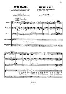 Vollständige Oper: Akt IV by Wolfgang Amadeus Mozart