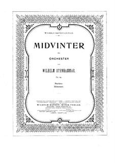 Midvinter (Midwinter), Op.24: Midvinter (Midwinter) by Wilhelm Stenhammar