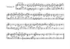 Six Voluntaries for Organ (or Harpsichord): Voluntary No.4 by John Beckwith