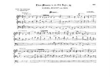 Einige Bearbeitungen für Orgel. Heft 8: Einige Bearbeitungen für Orgel. Heft 8 by Johann Sebastian Bach, Wolfgang Amadeus Mozart, Georg Friedrich Händel, Ludwig van Beethoven, Carl Maria von Weber, Luigi Cherubini