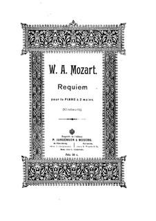 Vollständiger Teile: Für Klavier by Wolfgang Amadeus Mozart