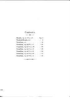 Zwei Rondos und sieben Sonatinen: Zwei Rondos und sieben Sonatinen by Daniel Steibelt