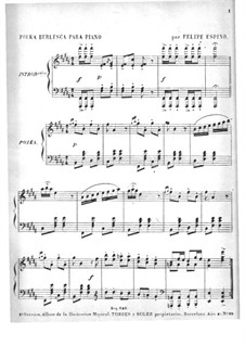 Polka Burlesca: Polka Burlesca by Felipe Espino