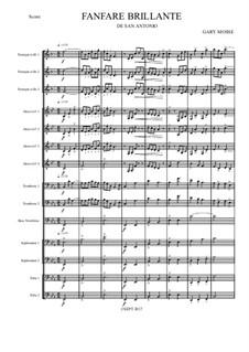 Fanfare Brilliante – Brass Choir: Fanfare Brilliante – Brass Choir by Gary Mosse