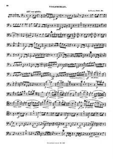 Klavierquartett No.2, Op.28: Cellostimme by Alexander Fesca