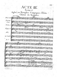 Echo et Narcisse: Akt III by Christoph Willibald Gluck
