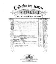 Saltarello für Violin und Klavier, Op.4 No.4: Partitur by Ferdinand Laub
