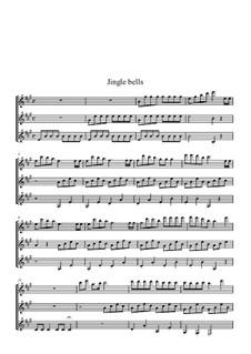 Jingle Bells: Für Gitarre by James Lord Pierpont