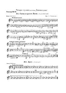 Fragmente: Für Blasinstrumente by Pjotr Tschaikowski