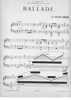 Ballade: Ballade by Alphonse Hasselmans