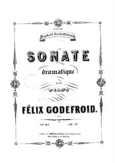 Dramatische Sonate, Op.45: Dramatische Sonate by Felix Godefroid