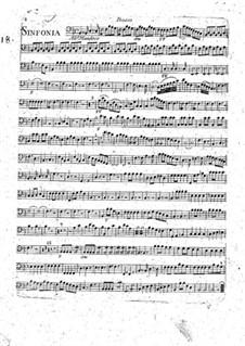 Sinfonie Nr.1 in B-Dur: Cellostimme by François Joseph Gossec