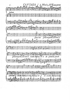 Kantate 'Grant Me Gentle Love': Kantate 'Grant Me Gentle Love' by Barnabas Gunn