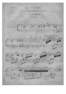 La Tapada, Op.171: Für Klavier by Henri Herz