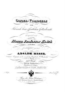 Orgelvorspiele, Op.33: Orgelvorspiele by Adolf Friedrich Hesse