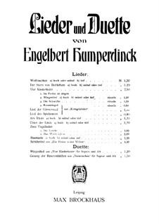Wiegenlied: Wiegenlied by Engelbert Humperdinck