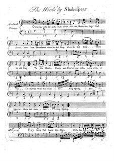 Orpheus with His Lute: Orpheus with His Lute by Maurice Greene