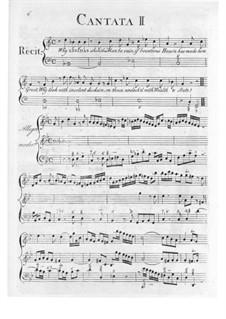 Cantata No.2 'Why Lysidas should man be vain': Cantata No.2 'Why Lysidas should man be vain' by William Hayes