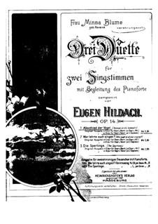 Abschied der Vögel, Op.14 No.1: In a-Moll by Eugen Hildach